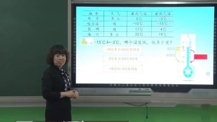 210冀教版数学六年级下认识天气预报中的负数乐亭县第一实验小学高艳