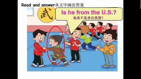 小学四年级英语-U1L2 Where's she from-李传微
