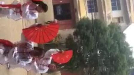 余干瑞洪后沿曹会英姐妹舞队🌴《中国功夫扇》🌷