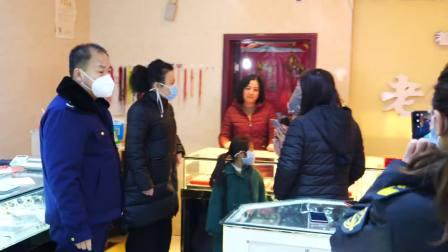 汾西县市场监督管理局疫情防控第一线