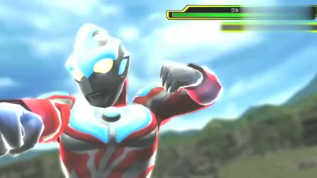 超英雄世纪:银河奥特曼部分展示,最后全身光线的大招有点强