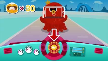 迷你特工队游戏:塞米遇到的是章鱼BOSS它竟然吵塞米喷墨汁