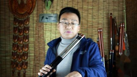 47页《童年》教学歌曲的演奏方法 曲谱分析示范讲解音乐佳双管巴乌教学