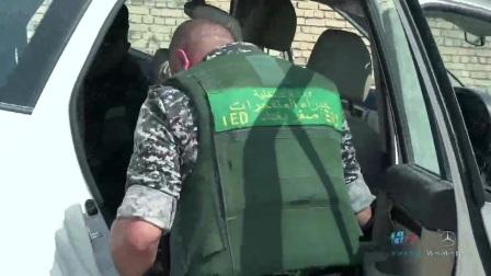 我在拆弹部队·伊拉克截了一段小视频