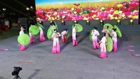 保山市老年大学花灯艺术团表演风彩东城,指导老师:朱惠萍