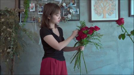 花束包装课程 韩式花束包装 花束包装教学 花店扎花束教程 红玫瑰花束包装制作