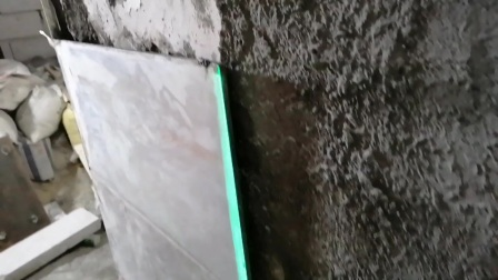 不用贴墙仪贴瓷砖工艺贴到100%垂直