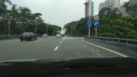 深圳新手陪驾练车,怎么转互通式立交桥。