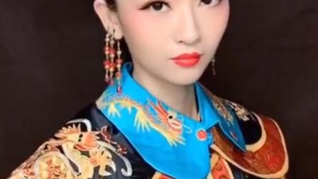 青岛古妆造型培训学校曼雅娜学员作品