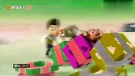 儿童趣味动画,汪汪队圣诞节装饰圣诞树!