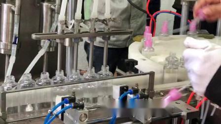 消毒液灌装线 喷雾瓶消毒水灌装机 消毒水灌装线