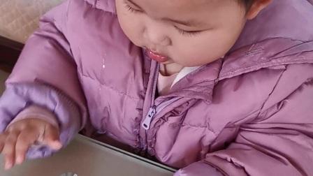 吃吃吃 小宝宝吃东西