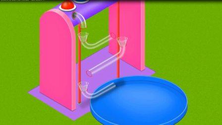 球球过悬空洞变动物游戏 认识颜色 学习英语  婴幼儿早教