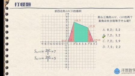 图形面积计算(割补法)