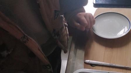 吴鑫一  亲手做红枣 葡萄干酸奶蛋糕