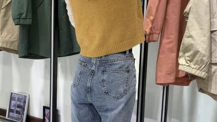 世梵希风衣系列一手货源女装厂家直销批发分份走份
