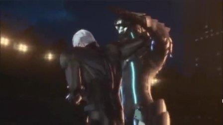 机动奥特曼:新老奥特曼战斗,铠甲支持不住力量。