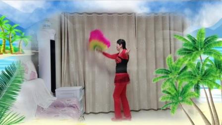 杏林舞蹈队《全国第八套健身秧歌》杏林漫步个人习舞,编舞~张云海(2020222日拍)