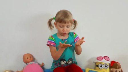 """萌娃小可爱:果然是""""会哭的孩子有糖吃""""呀!我的雪糕和冰淇淋都被它给吃光了!.mp4"""