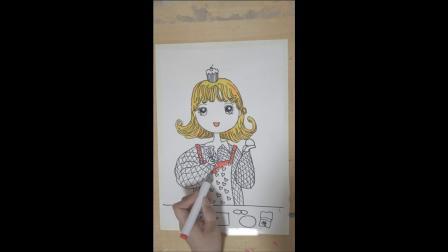爱剪辑-卡通绘画做蛋糕.mp4