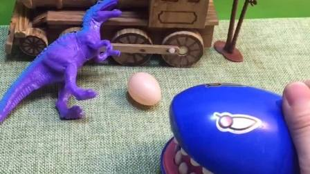 恐龙妈妈正在等宝宝出生,自己先睡一会,大家都没有打扰她