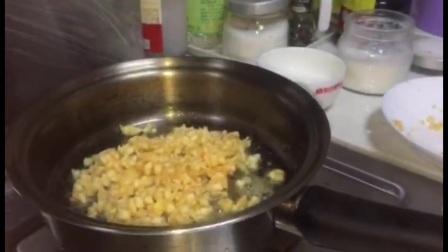 自制土司苹果派