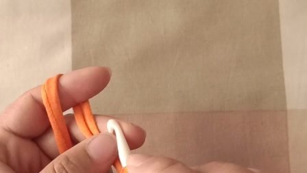 123手作-第63集辫子针起针