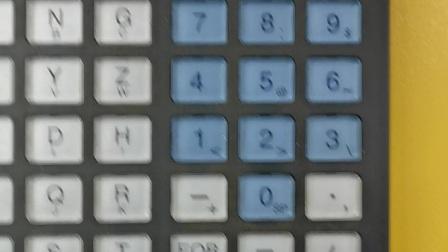 三菱M70/M80加工中心程序运行---无锡锐志数控培训学校