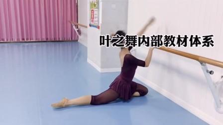 叶之舞训练对抗后腿,后胯跟的支撑力