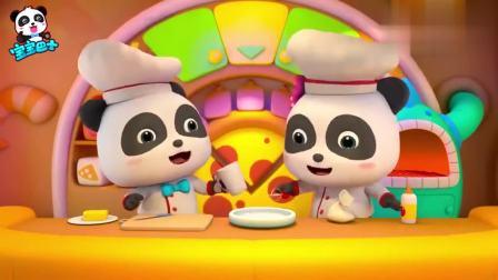 孩子爱看动画宝宝巴士:披萨小厨师