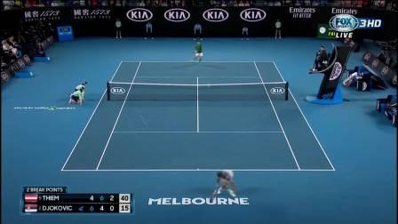 【2.2】2020澳网 男单决赛 德约科维奇VS蒂姆 FOX HD 1080P 中文解说