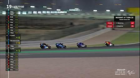 Moto2 2020 第一站 卡塔尔 正赛 英语 官网录播