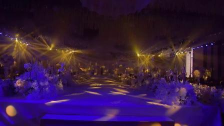 20200102壹号公馆婚礼堂灯光秀现场