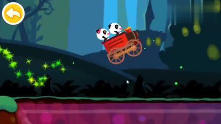 宝宝巴士游戏,琪琪和妙妙开车来到魔法森林大冒险