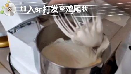 中粮面粉面包蛋糕制作教程(无水蛋糕)