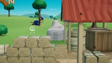 游戏汪汪队出发救援小砾去救小黄鸭,需要穿越很多障碍