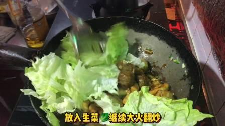 宅在家做麻辣香锅,30块钱做了两大盆,两碗米饭吃到撑!!!