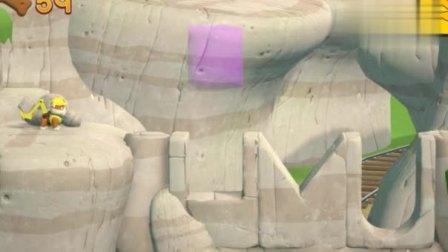 游戏汪汪队出发救援小砾把石头放回原位,可以继续出发救援了