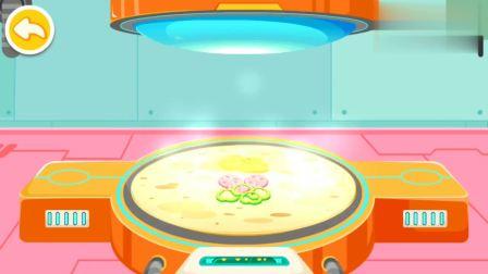 制作好吃的火腿面包 妙妙会喜欢吃吗?宝宝巴士游戏