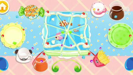 奇奇生日派对 吃美味蛋糕啦~宝宝巴士游戏