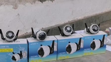 白沙秧地角村 陈老板安装【Tp-link安防】黑光全彩摄像头