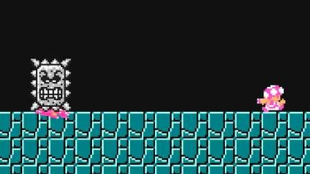 搞笑超级玛丽游戏里有个奇怪方块,马里奥和路易吉都被吸进去了