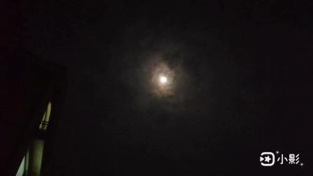 三星手机关机画面  月亮下的城市篇