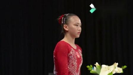 2018亚运会体操女子个人全能决赛第三组