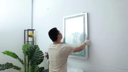 浴室镜挂墙安装.mp4