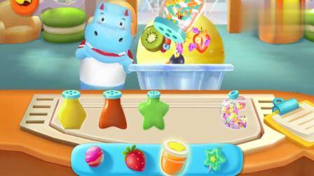宝宝巴士游戏:巨无霸冰激淋,我们给他多加点糖果