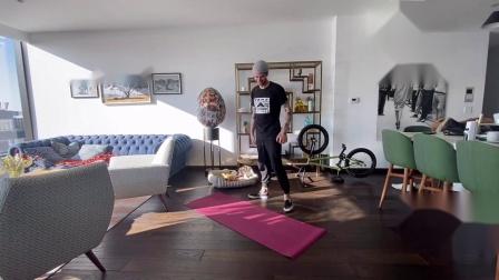Matthias Dandois  Covid19 BMX Workout