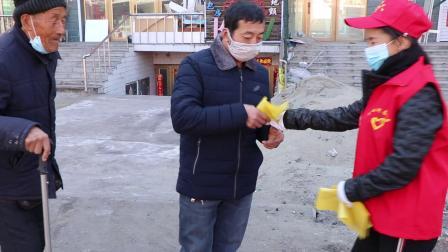 中心河乡爱心志愿者服务队展开爱国卫士运动