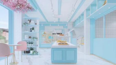 哈尼炫鲜花蛋糕店的效果图