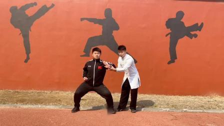 博杰学校---五步拳教学上